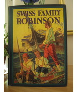 SWISS FAMILY ROBINSON by J. D. WYSS with 8 COLO... - $15.99