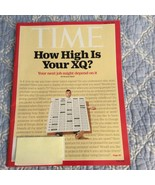 Time Magazine How High is Your XQ Personality T... - $4.00