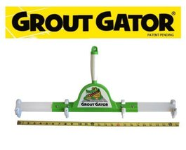 Grout Gator Pro Extender Cleaning Brush w/ 4 Br... - $56.64