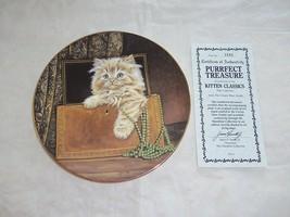 Purrfect Treasure Kitten Classics Hamilton Coll... - $29.69