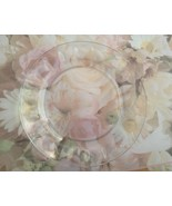 Petale Design 6in Glass Bread and Butter Plate ... - $4.00
