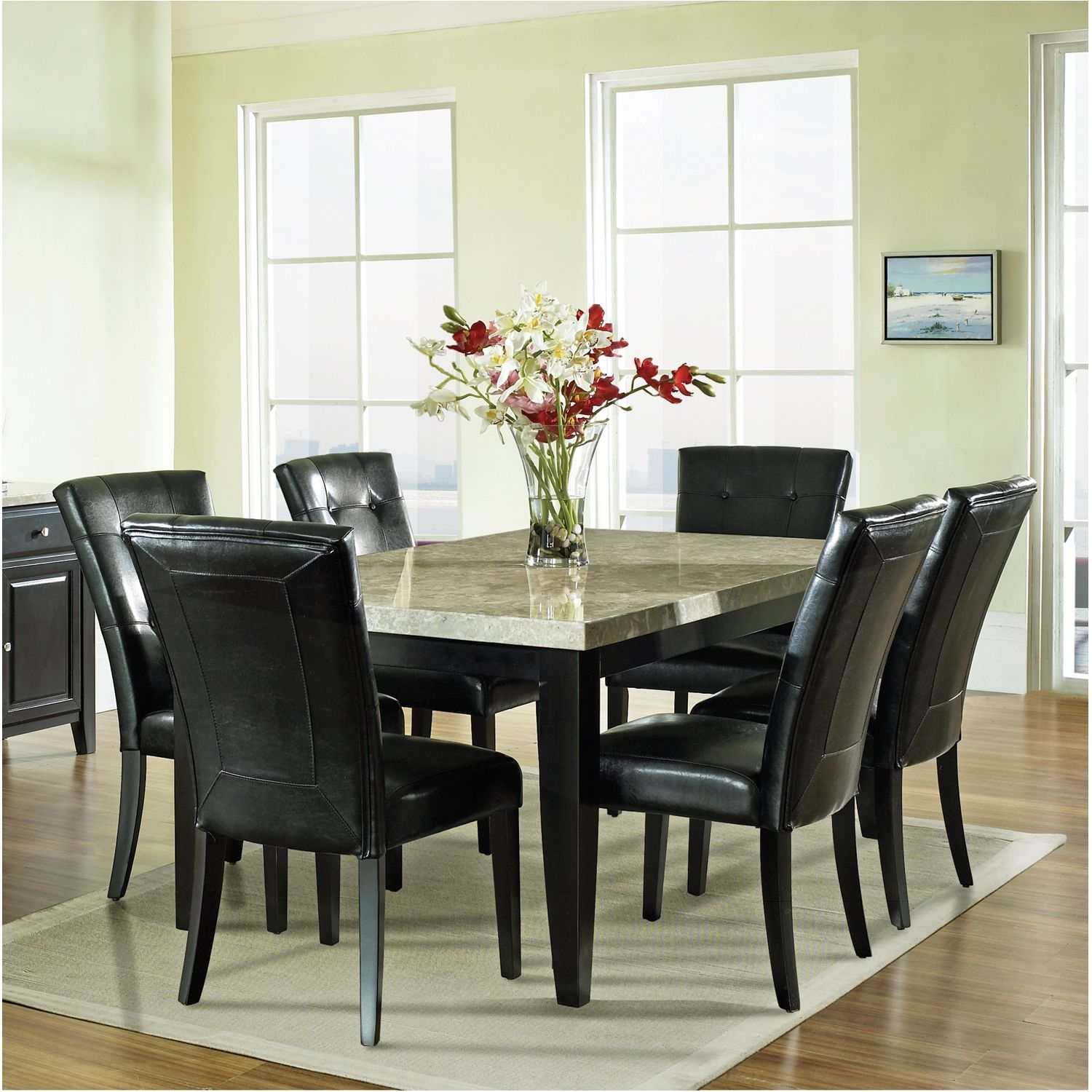 piece modern formal casual contemporary dining set dining room sale