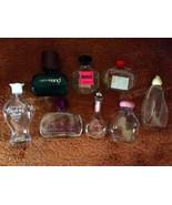 Avon Empty Bottle Lot of 8 Jars Bottles Collect... - $15.00