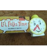 Avon Lil Folks Time Bubble Bath Empty  Plastic ... - $5.00