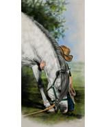 Little Vaquero by Lesley Harrison Horse Child P... - $38.61