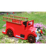 Old Timey Fire Truck Mailbox - $165.00