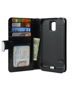Samsung Galaxy S5 Folio PU Leather Wallet Power... - $39.50
