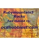Lapidary - Rubymountain5 Rocks has moved - $0.00