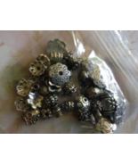 Jewelry Making Destash 57 Gram Lot of Spacer Be... - $9.50