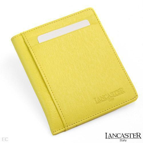 Lancaster Made In Italy Genuine Leather Credit Card Holder