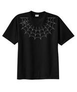 Rhinestone Spider and Web New T Shirt, S M L XL... - $23.99