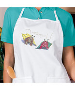 Your Place Or Mine Hermit Crabs New Apron, Cook... - $19.99