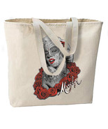 Sugar Skulls Marilyn New Oversize Tote Bag, All... - $18.99