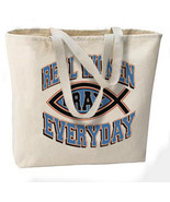 Real Women Pray Everyday Jumbo Tote Bag, All Pu... - $18.99