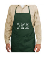 Paper Rock Scissors New Apron Cook Grill Events... - $19.99