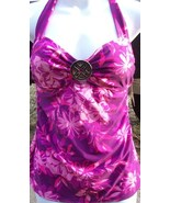 Jaclyn Smith Women's Halter Tankini Top Swimsui... - $9.95
