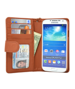Navor Samsung Galaxy S4 Folio Wallet Leather Ca... - $15.50