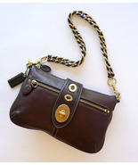 Authentic Coach Turnlock  Leather Baguette Shou... - $55.00