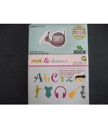 Making Memories Slice design card Music and Dan... - $22.99