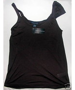 FRENCH CONNECTION Brown Asymmetrical Tank Top S... - $9.64