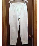 White Jeans Cascade Blues Elastic Band Used  - $9.99