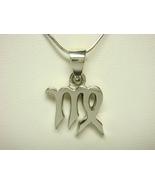 Sterling Silver Zodiac Star Sign VIRGO Charm Pe... - $15.00