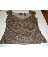 Axcess a Liz Claiborne Company Size M Sleeveles... - $9.99