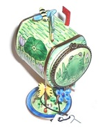 KELVIN CHEN Frog Spring Mailbox Stamp Holder Co... - $25.99