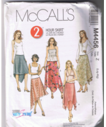 McCall's 4456 Misses / Petite Two Hour Skirt Si... - $7.00