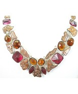 Natural Nuggets of Copper and Pink + Honey Topa... - $304.26
