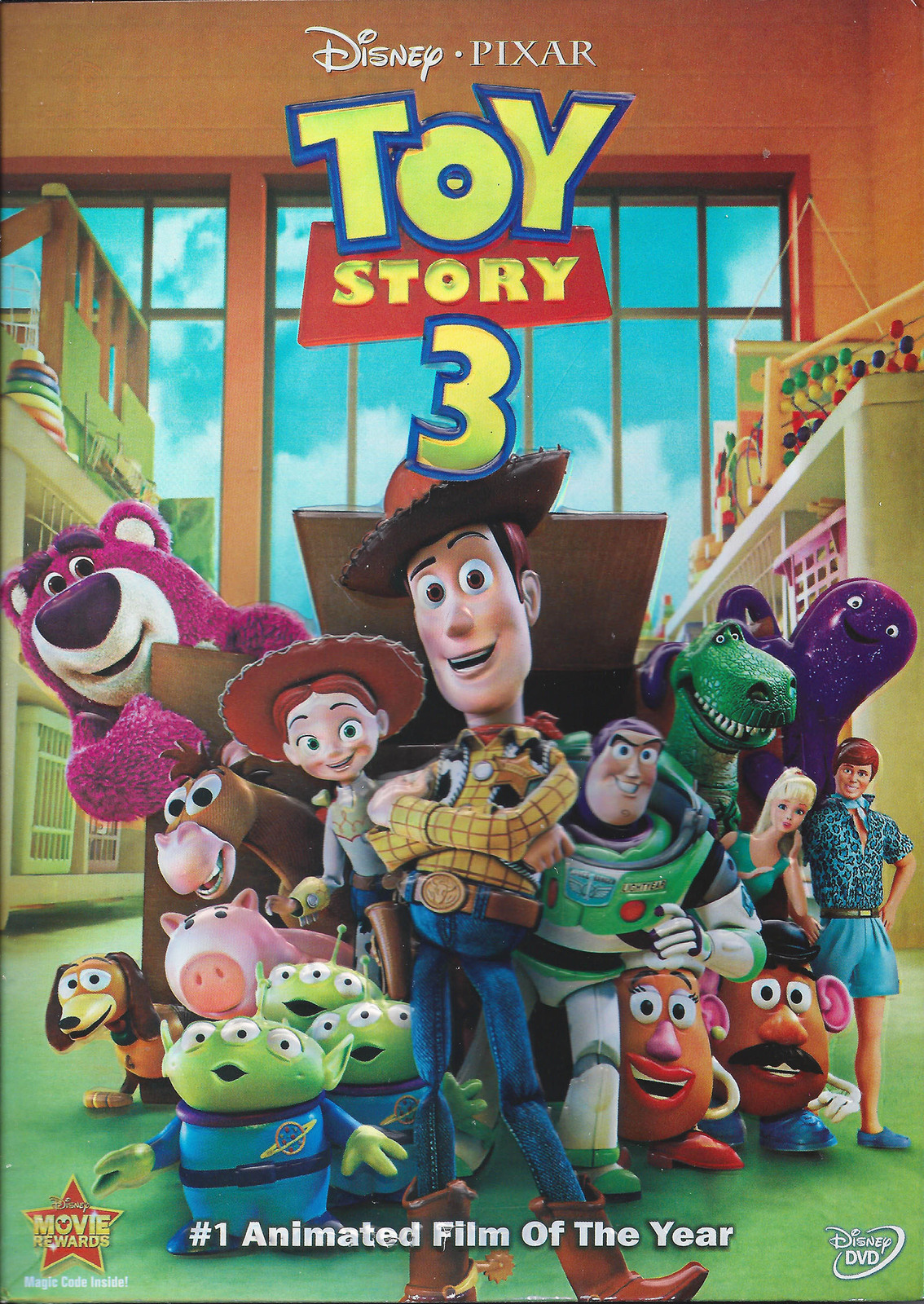 Toy Story 3 Dvd 2010 Brand New Sealed Dvd Hd Dvd Amp Blu Ray