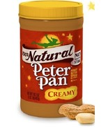 Peter Pan Natural Creamy Peanut Butter - $9.89