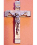 LOURDES CRUFIC CROSS MADE IN FRANCE CONTAINED H... - $25.74