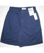 Old Navy Singe Pleat Shorts Navy Cotton Size 6 New - $5.00
