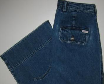 Lauren Jeans Co Denim Capri Cropped Pants Size 8