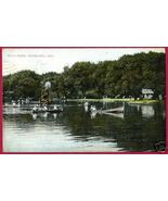 CLEVELAND OHIO Wade Park 1908 Boats OH - $6.50