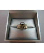 VTG Avon Ring RJ 925 Sterling Silver Smokey Top... - $32.66
