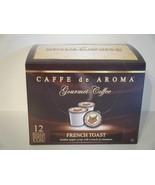 Caffe De Aroma French Toast 12 Single Serve K-C... - $8.99