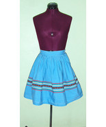 70's Vintage Peasant Skirt Ethnic Hippie Boho G... - $12.95