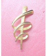 Modern abstract Statement Pin signed JJ © 1986 - $7.00