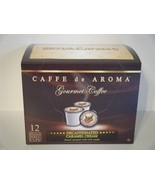Premium Decaf.Caramel Cream Coffee 12 Single Se... - $9.99