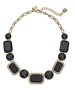NWT Kate Spade Jackpot Jewels Black Bib Necklac... - $162.86