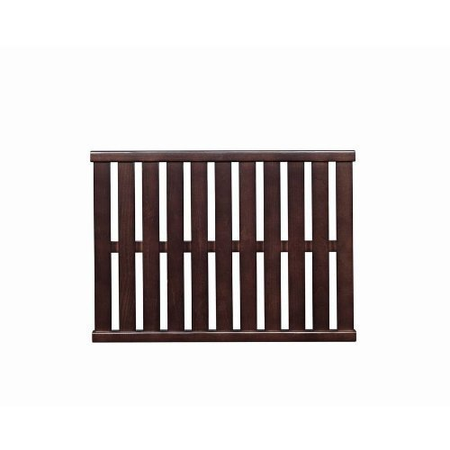 Allen And Roth Ventilated Shelf Java Finish 100 Solid