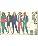 Butterick Sewing Pattern 3081 Misses Womens Ves... - $9.98