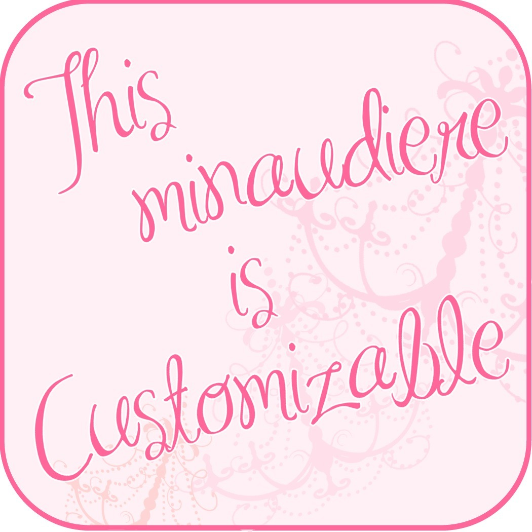 Minaudierecustomizable