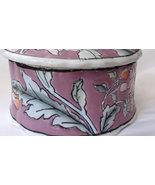 Vintage with Floral Design Hand Painted Trinket... - $38.00
