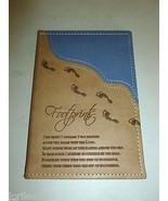 MARKINGS TAN & BLUE FAUX LEATHER INSPIRATIONAL ... - $15.99