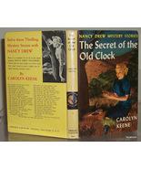 Nancy Drew #1 Secret of the Old Clock Vintage 3... - $6.99