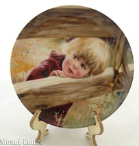 Donald Zolan Collector Plate Rodeo Girl 7.5 inches - $7.91