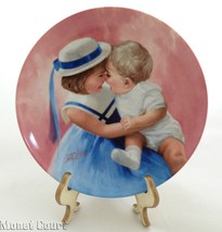 Donald Zolan Collector Plate Mother's Angels 7.... - $6.92